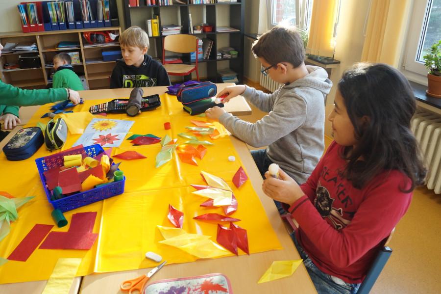 Adventsbasteln Grundschule Muden